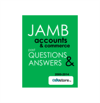 account and commerce jamb past questions and answers 2000 - 2014