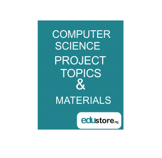 COMPUTER SCIENCES PROJECT TOPICS/WORK
