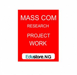 Mass Communication Students