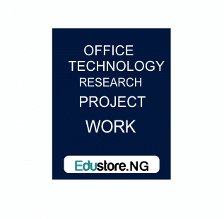 New Office Technologies Data Preservation Industrial Training Modern Office Equipments And Their Contributions To The Success Of A Business Organization (A Case Study Of Nnpc Enugu Depot)