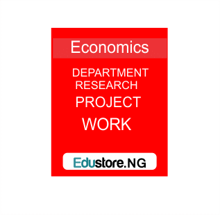 Industrialization, Deposit Money, Government Expenditure, Economic growth, Inflation, budget deficit, Foreign Direct Investment, Assessment Of The Role Of Gender In Cooperative Development, Population Growth And Economic Development In Nigeria
