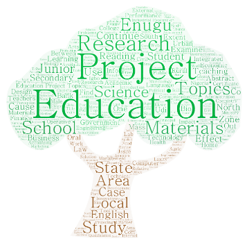 Education Project Topics And Materials Pdf And Doc Download