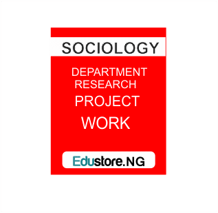 Work Environment, Note:All sociology project topics and materials are in PDF and MS Word Format.