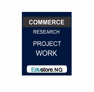 Inventory control, Commerce Project Topics
