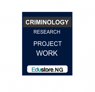 fight against terrorism, Criminology Project Topics