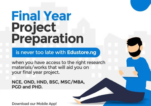 How to Write an Introduction of a Final Year Project (Chapter1)